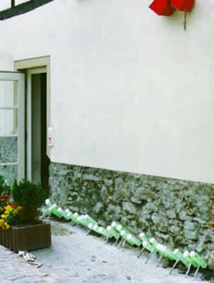 Feuchte Mauern dauerhaft trocknen